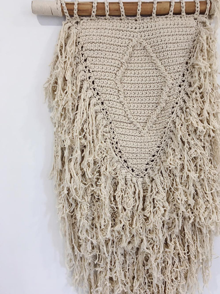 Irreplaceable Macrame Wall Hanging