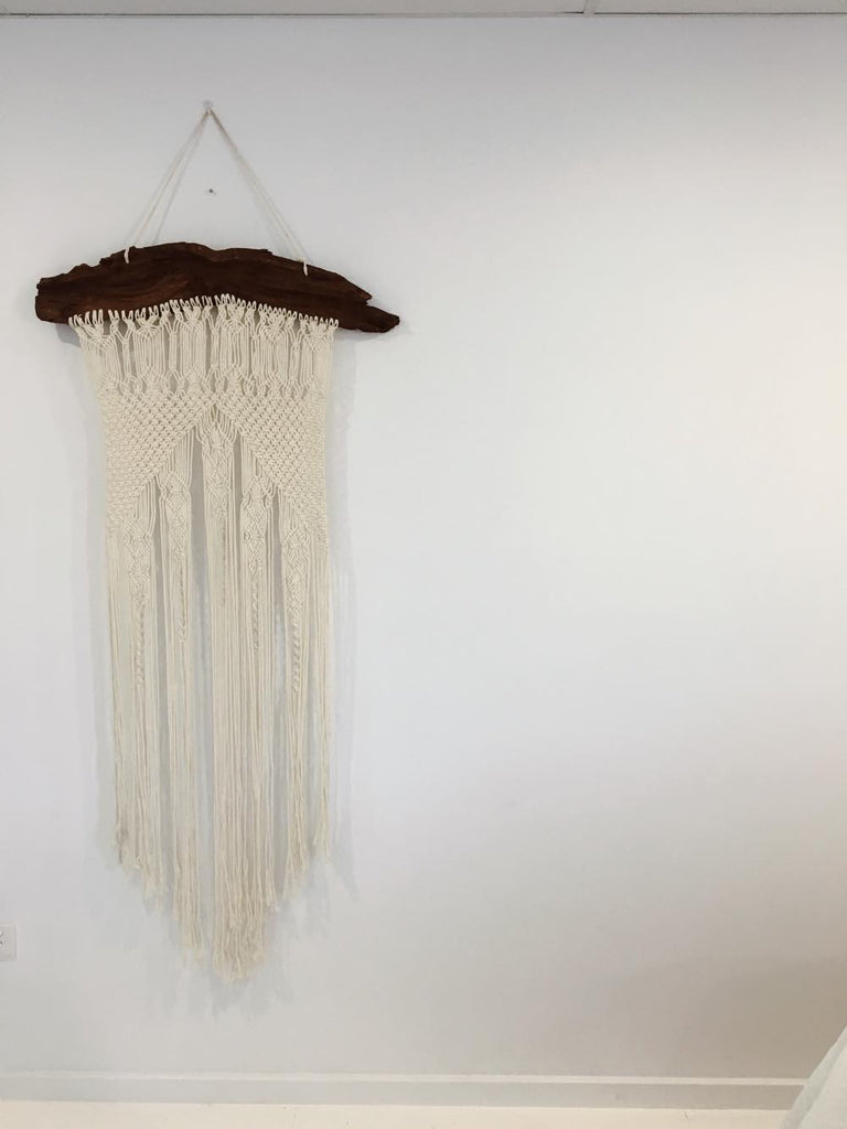 We The Free Macrame Wall Hanging