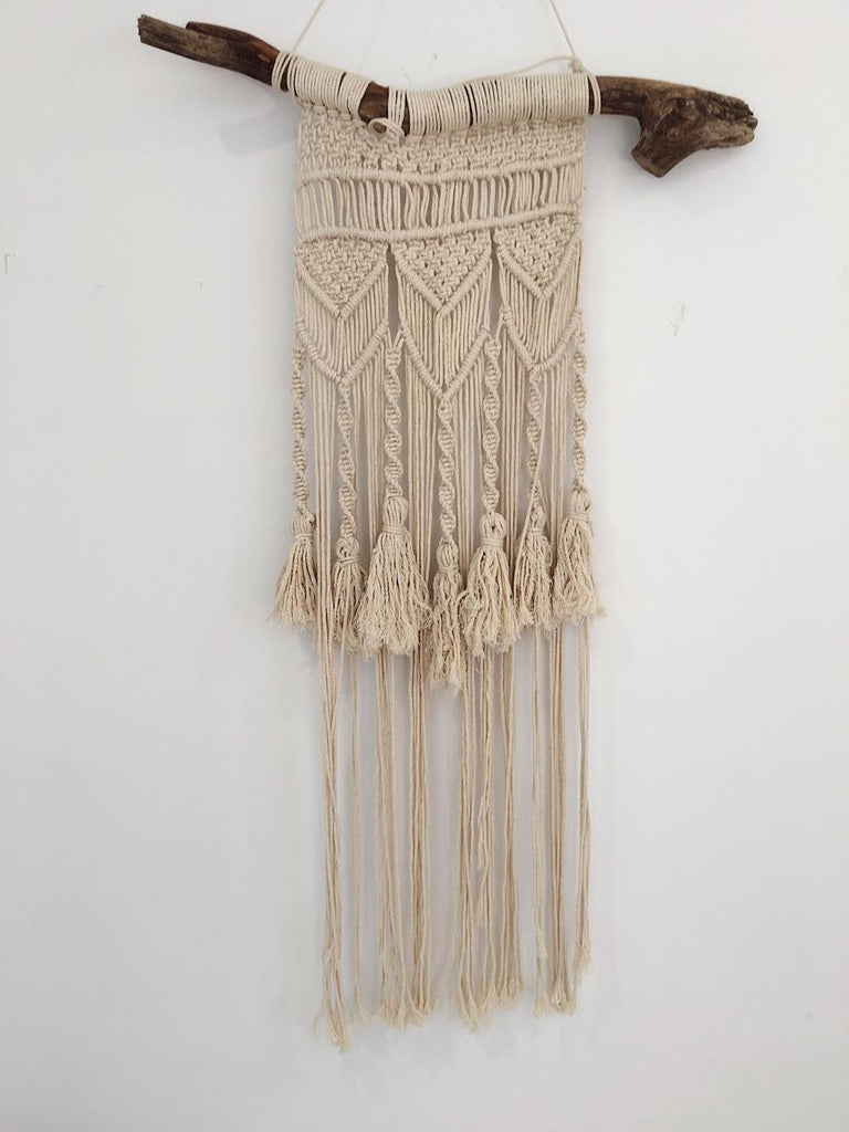 Sunkissed Macrame Wall Hanging