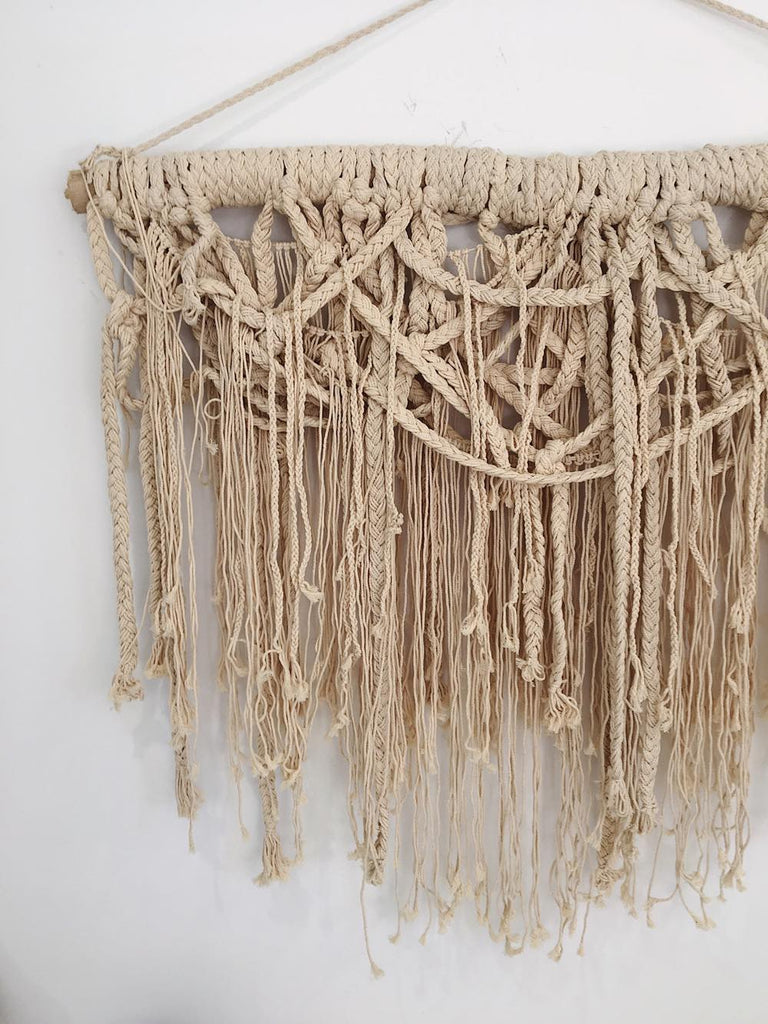 Wild Thinker Macrame Wall Hanging