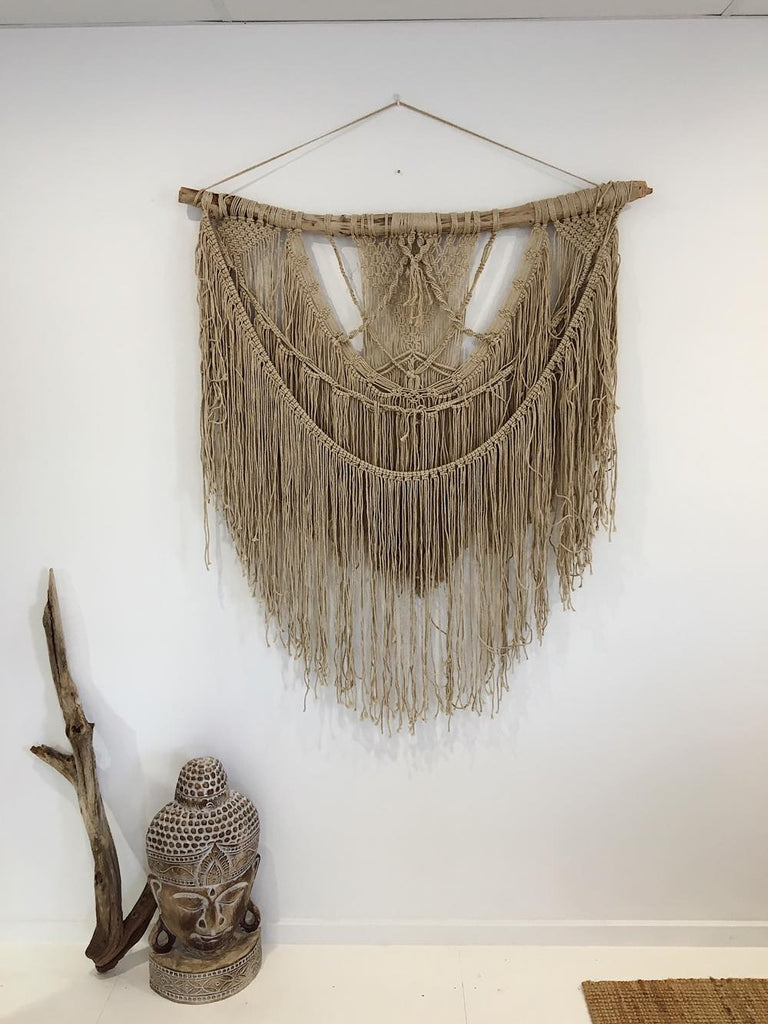 Dream Girl Macrame Wall Hanging