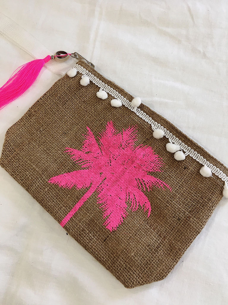 Palm Tree Clutch~5 Colours