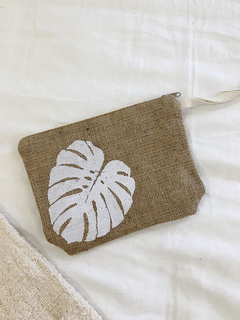 Monstera Clutch~ 5 Colours
