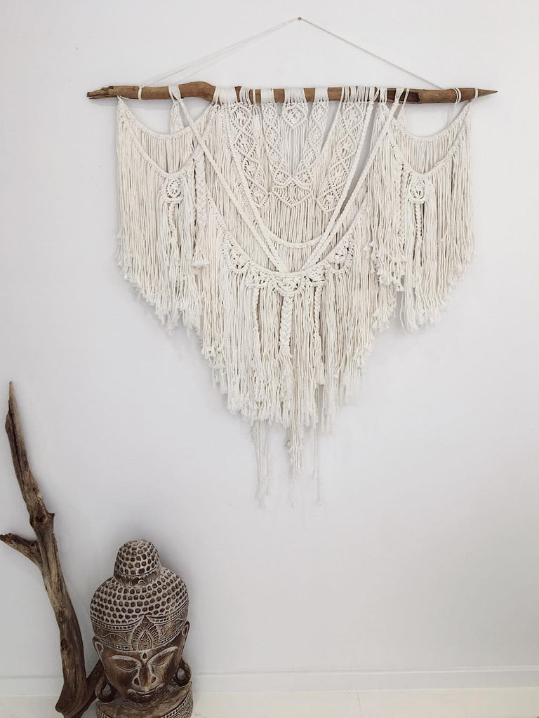 Penny Macrame Wall Hanging