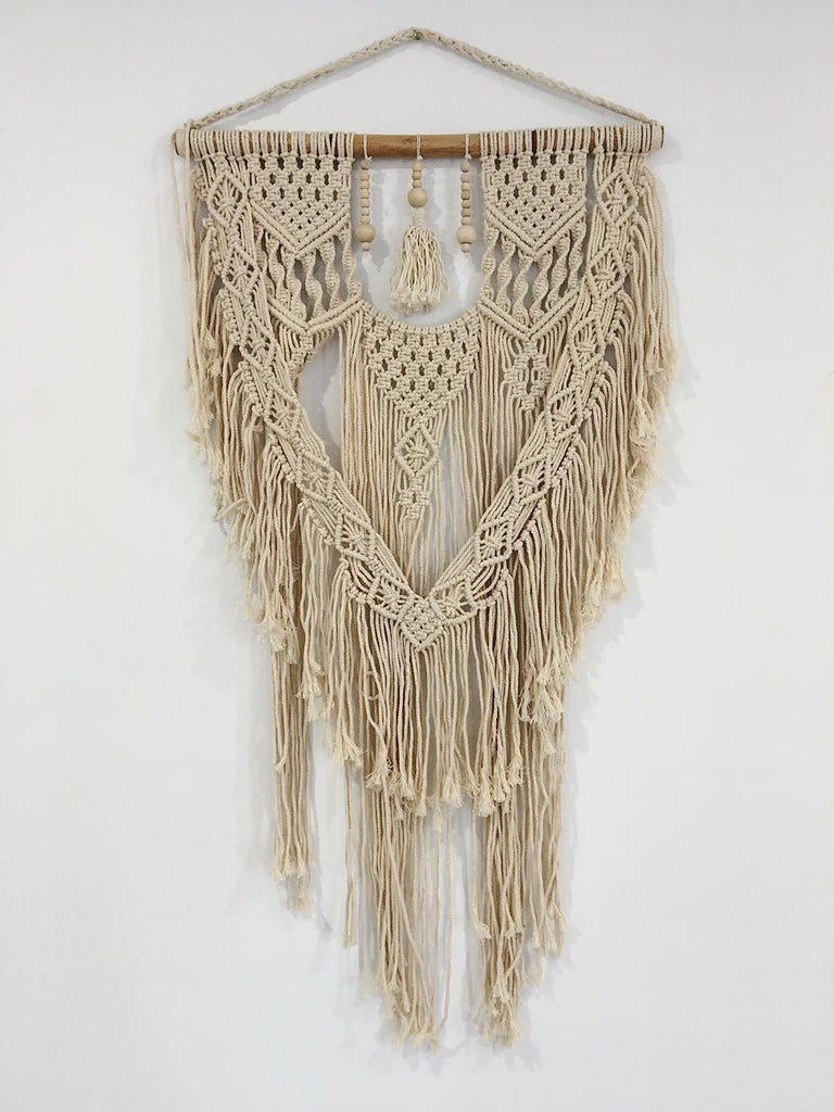 French Girl Macrame Wall Hanging