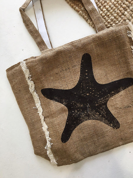 Star Fish Frill Tote Bag