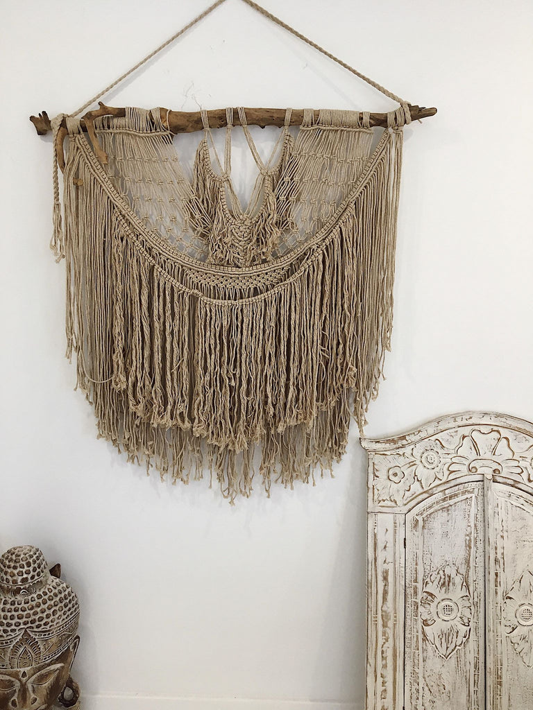 In Love With You Macrame Wall Hanging