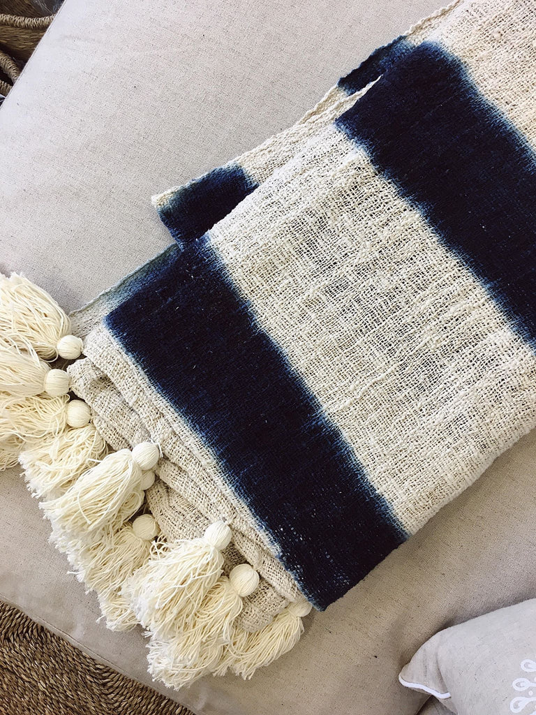 Tallow Throw Blanket