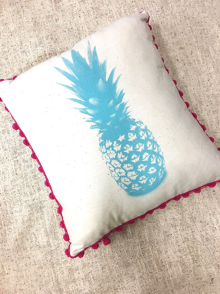 Pom Pom Pineapple Pillow