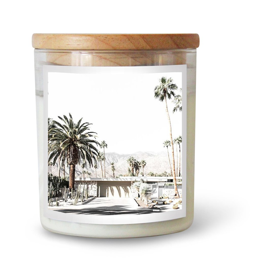 Palm Springs Living Candle