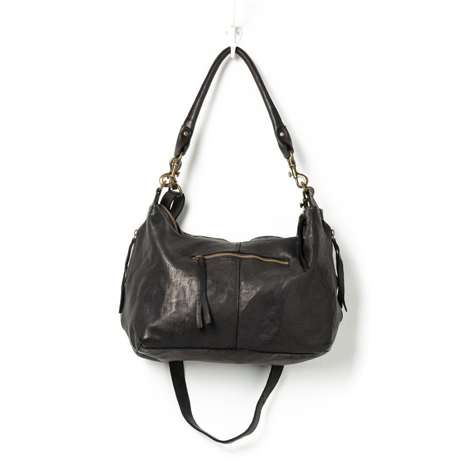 Small Leather Slouchy