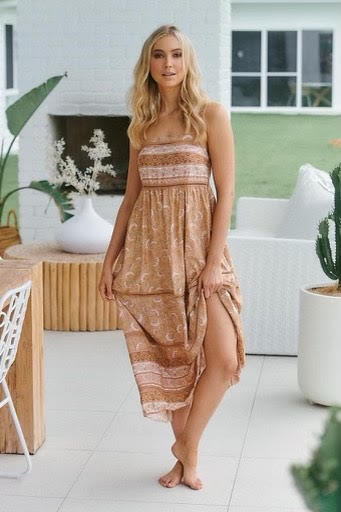 Creme Brulee Heidi Dress