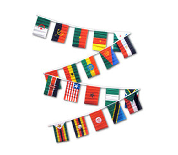 African 30' Pennant String