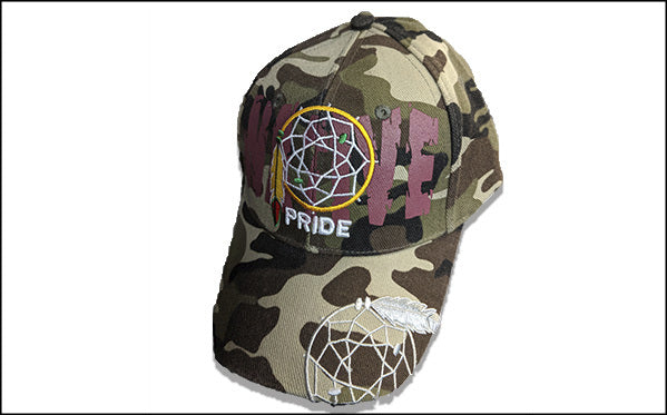 Native Camo Dreamcatcher Baseball Cap
