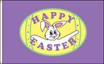 Happy Easter w/ Bunny 3'x 5' Nylon