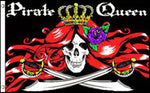 "Pirate Flag The Queen 36""x 60"""