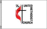 Religion, United Methodist Flags