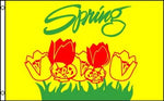 Spring 3'x 5' Nylon Seasonal Flag