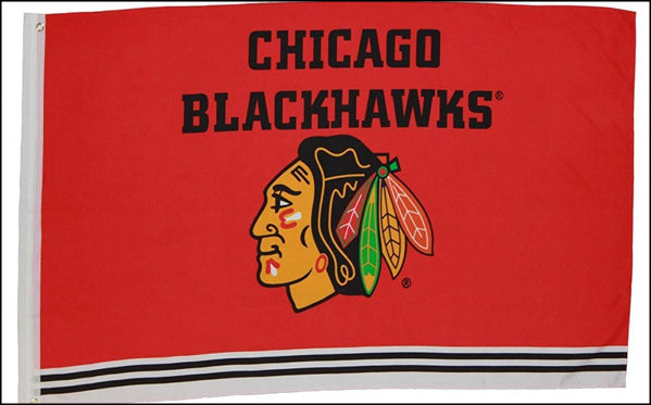 "NHL Chicago Blackhawks 36""x 60"""