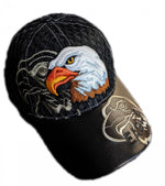 Native eagle shadow Baseball Cap
