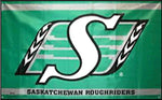 "CFL Sask Rough Riders 36""x 60"""