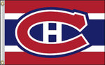 "NHL Montreal Canadiens 36""x 60"""