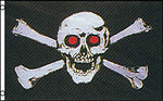 Pirate Skull Red Eyes