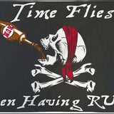 Pirate's Time Flies w/ Rum