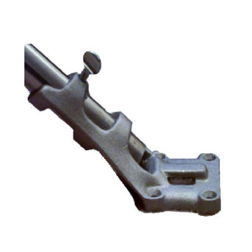 "Single (1) Cast Aluminum Bracket 1"" - 45 degree"