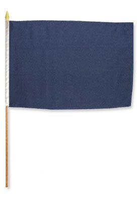 Solid Navy Blue Flag