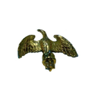 "Small Brass Eagle (3/4"" Dia) Finial Pole Top"