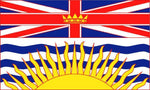 British Columbia Flags