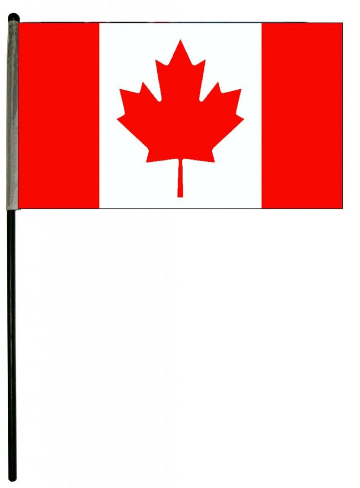 Canadian Flags w/ staff