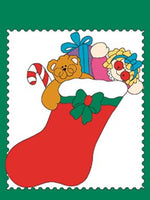 "Christmas Stocking 34""x 44"" Banner"