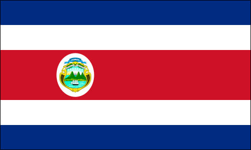 Costa Rica  National Flag - Flag Outlet