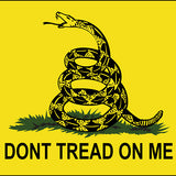 "Gadsen 36""x 60""   (Don't Tread on Me)"