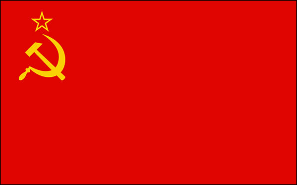 USSR Flags (Soviet Union / Russia)