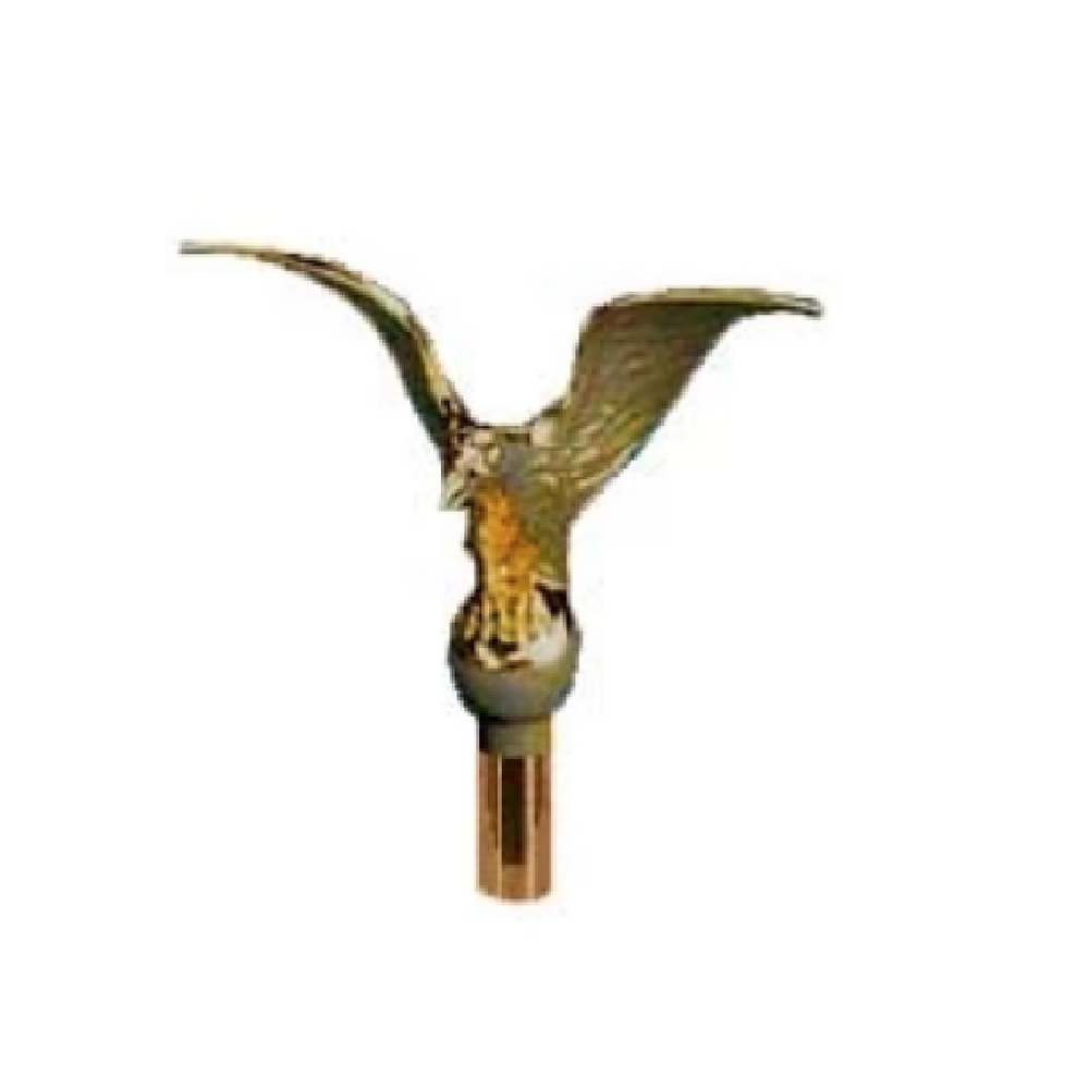 "Flying Eagle 6.5"" Wingspan Finial Pole Top"
