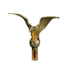"Flying Eagle 9 1/4"" wingspan Finial Pole Top"