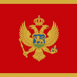 Montenegro_National_flag_dysplay_FLAGOUTLET