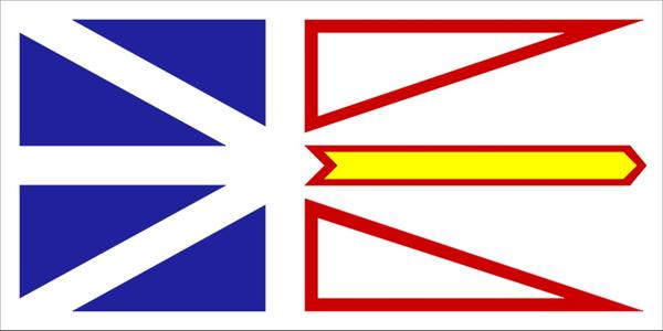 Newfoundland and Labrador Flags