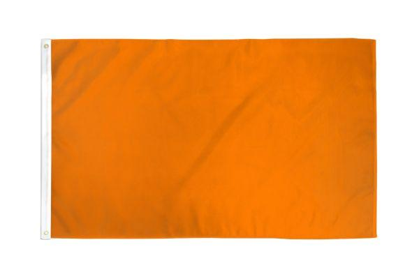 Solid Orange Flag