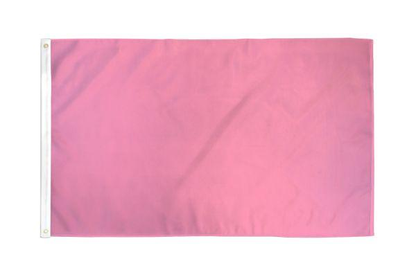 Solid Pink Flag