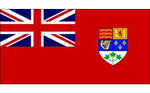 "Red Ensign poly (Green Leaf) - 36""x 60"""