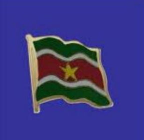 Lapel pin, Suriname