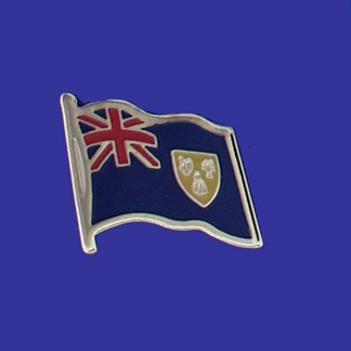 Lapel pin, Turks & Caicos
