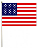 US Handheld Flags