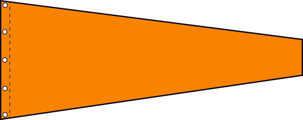 1 Colour Windsock