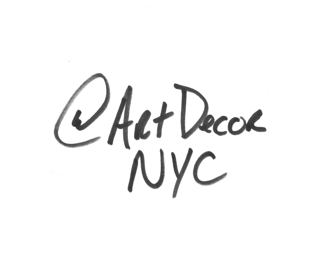 Find us on Instagram @artdecornyc | Art Decor NYC ®