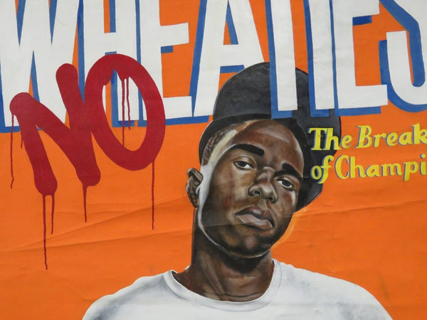Beau Bradbury NYC Graffiti Street Artist Wheaties Breakfast Champion MCs Artwork
